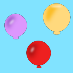 Birthday Balloons Backgrounds