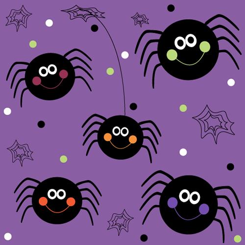 Halloween Spider Background