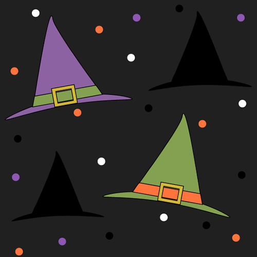 Witch Hat Background