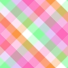 Pink And Green Plaid Background