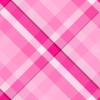 Hot Pink Plaid Background