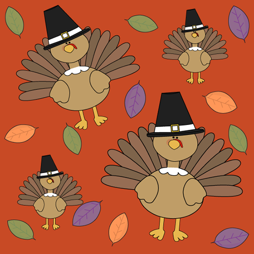 Thanksgiving Turkey Background - Thanksgiving Turkey ...