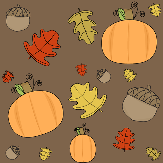 Thanksgiving Foilage Background