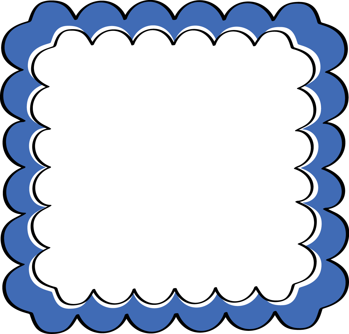 blue scalloped frame free clip art frames rh mycutegraphics com free frame clip art for funeral programs free frame clip art images
