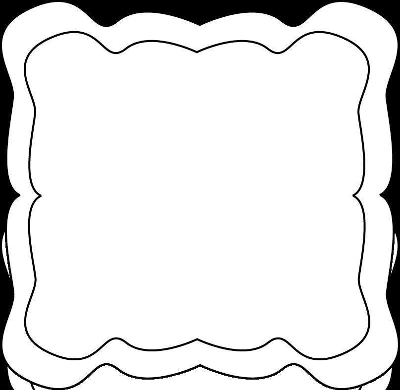 Curvy Frame - Free Clip Art Frames