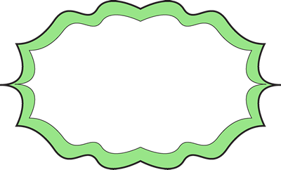 Fancy Bright Green Frame