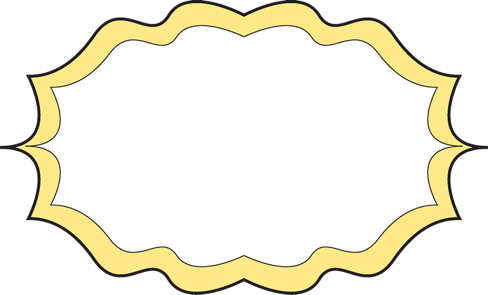 fancy yellow frame - Yellow Frame