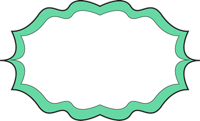 Fancy Green Frame