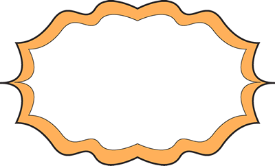 Fancy Orange Frame