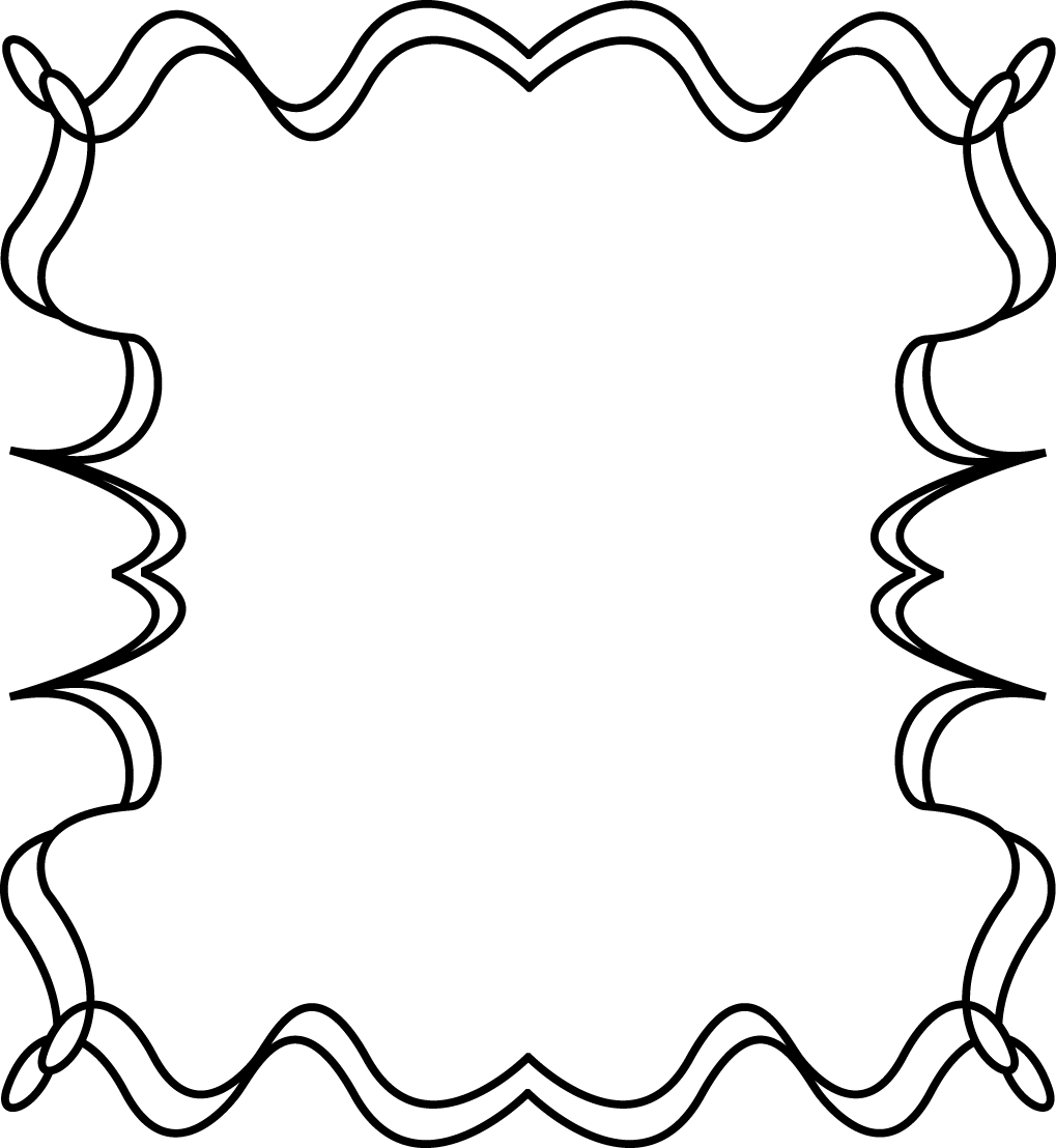 full page squiggly zig zag border frame free clip art frames rh mycutegraphics com clipart frames and borders clipart frames and borders black and white