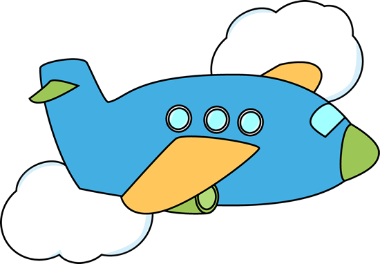Clip Art Clipart Plane airplane clip art images flying through clouds