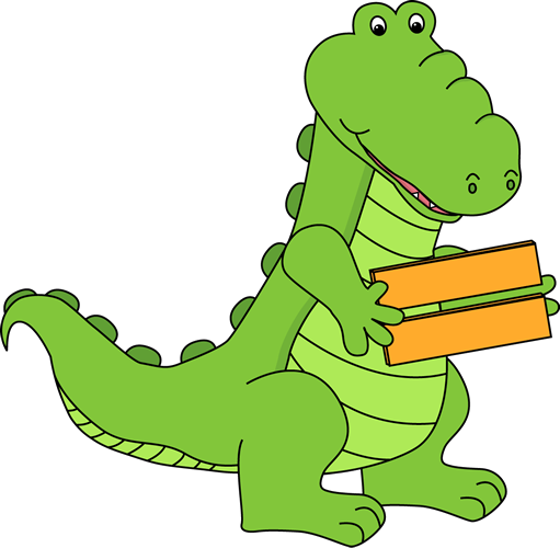 Alligator Holding an Equal Sign
