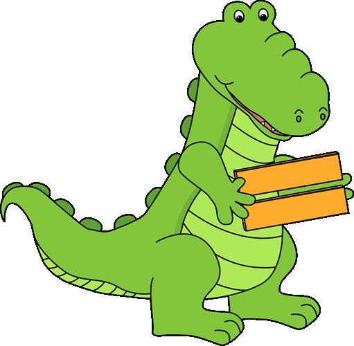 Alligator Holding an Equal Sign