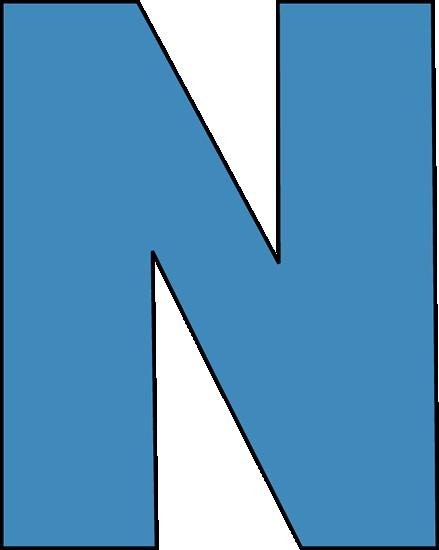 blue alphabet letter n clip art blue alphabet letter n image rh mycutegraphics com letter m clipart