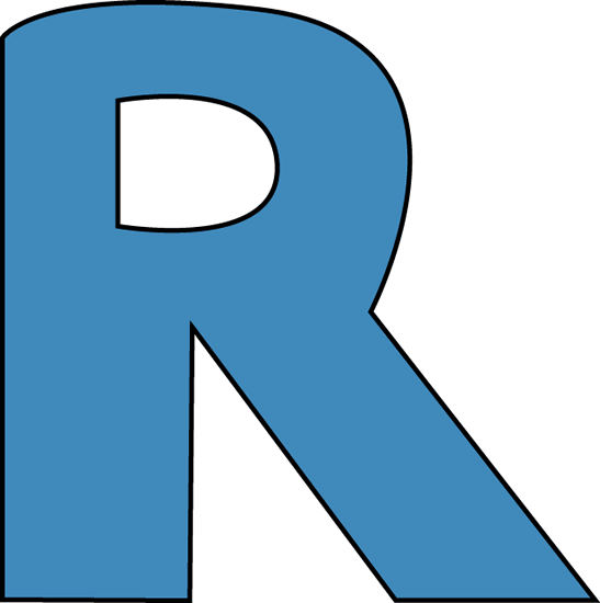 R Alphabet Images Blue Alphabet Letter R...