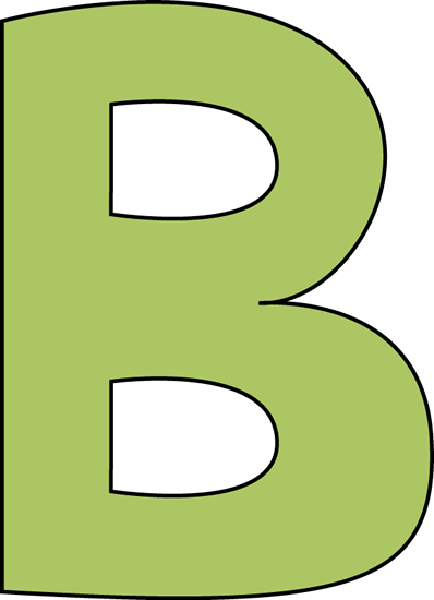 Letter B Clip Art Titan Northeastfitness Co