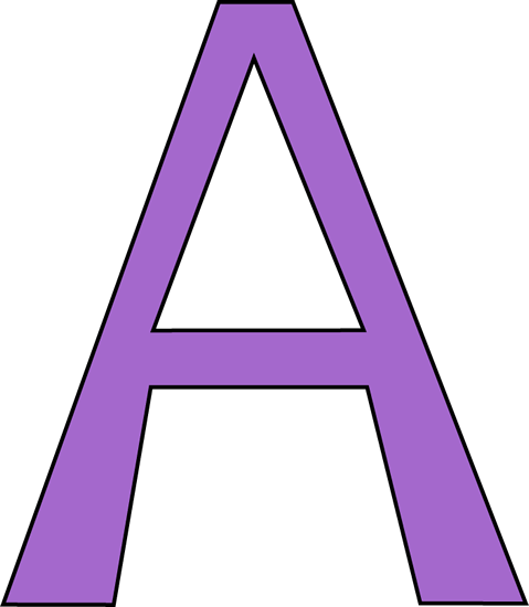 purple letter a clip art purple letter a image letter a clipart coloring letter a clipart with flowers