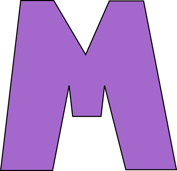 Purple letter m clip art purple letter m image purple letter m thecheapjerseys Gallery