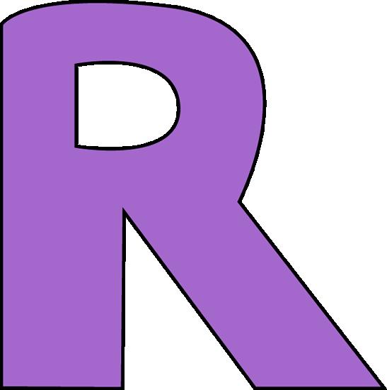 Purple letter r clip art purple letter r image purple letter r sciox Images