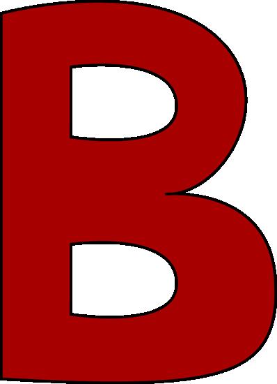 Gallery For > Letter B Clip Art