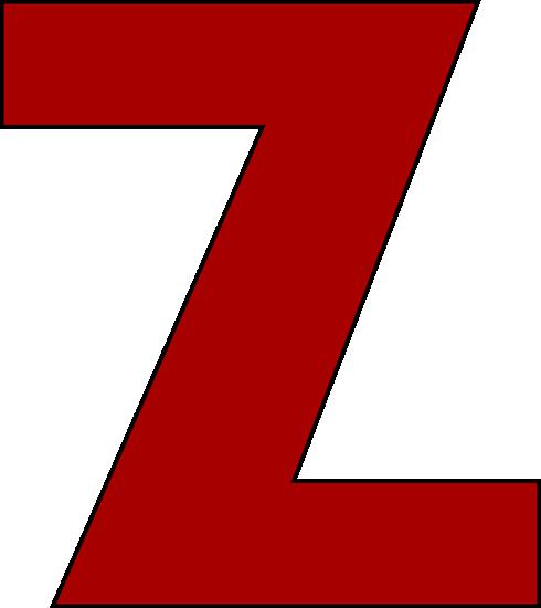Letter Z' Clip Art