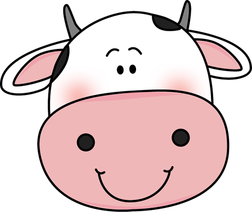 Cow Head with Black Spots