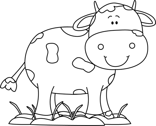 Clip Art Cow Clipart Black And White cow clip art images black and white in the mud
