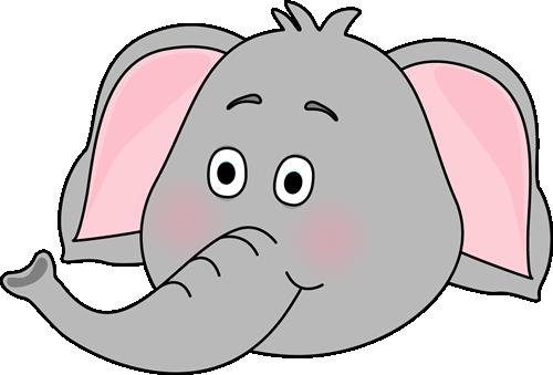 elephant head clipart - photo #14