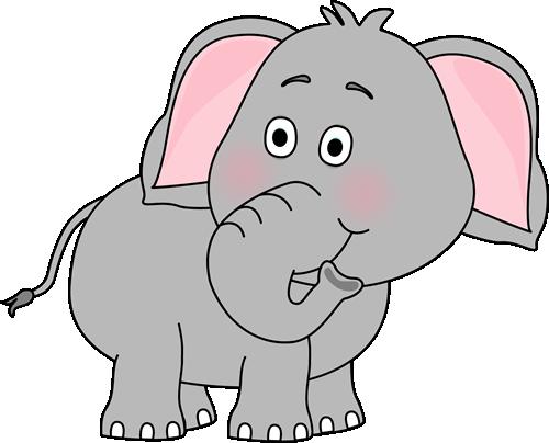Elephant Looking Behind Clip Art - Elephant Looking Behind ...