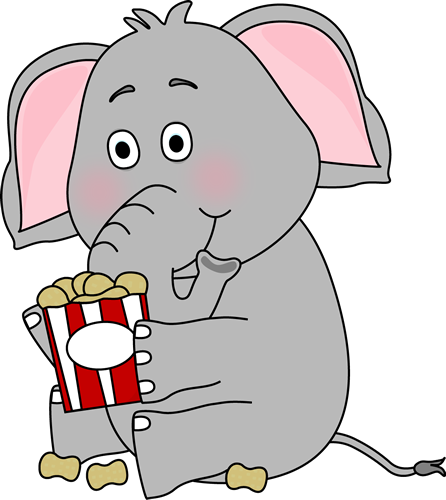 Elephant with Peanuts