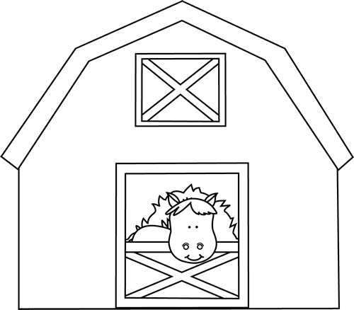 Shed Coloring Pages