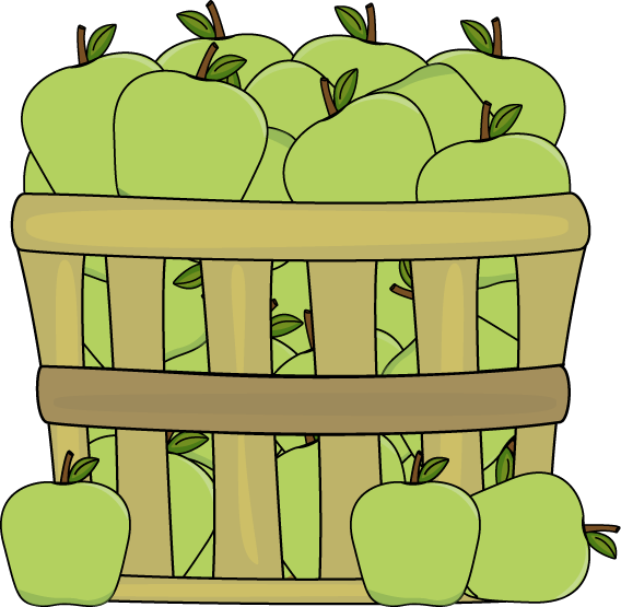 Basket of Green Apples