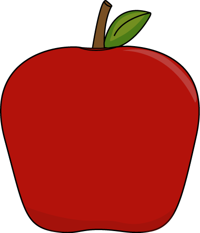 green and red apples clipart. big apple green and red apples clipart