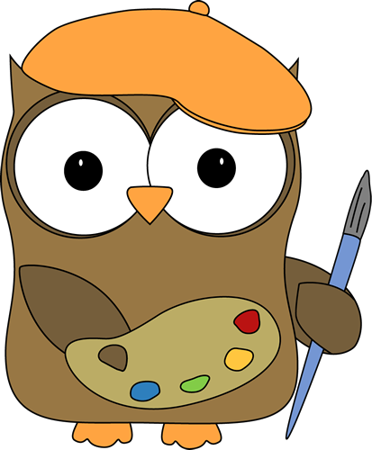 Owl French Artist Painter