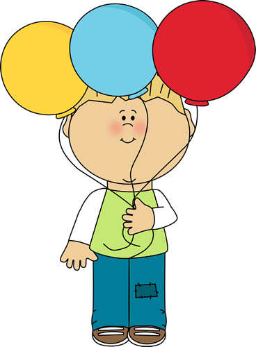 Little Boy and Balloons