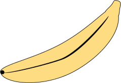 Unpeeled Banana