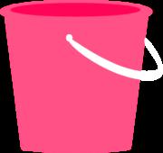 Pink Sand Pail Clip Art