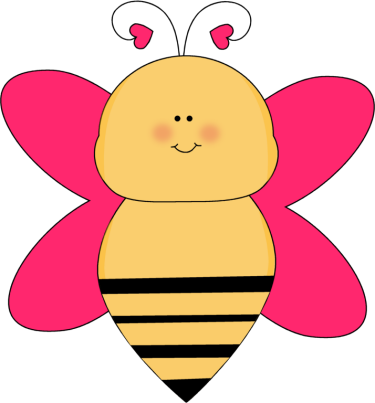 Bee with Heart Antenna