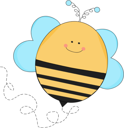 Blue Buzzing Bee