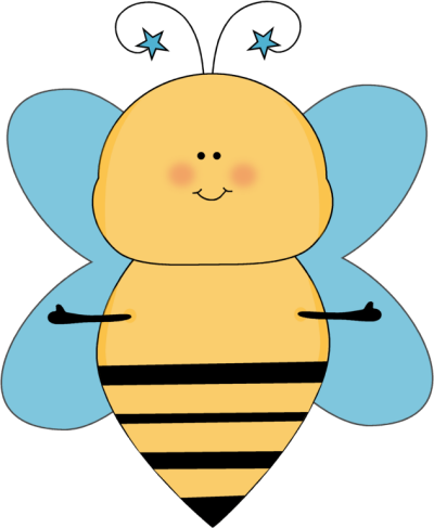 Blue Star Bee with Open Arms