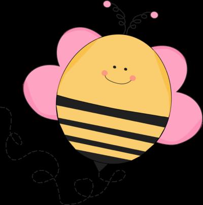 Buzzing Pink Bee