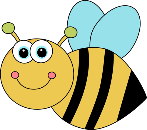 clipart cute bee-#12