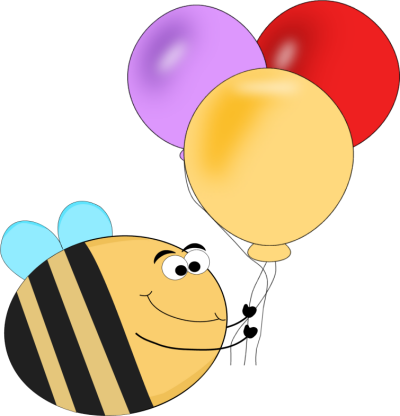 Funny Bee Balloons