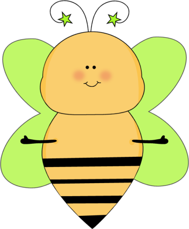Green Star Bee Open Arms