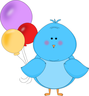 Bird and Balloons