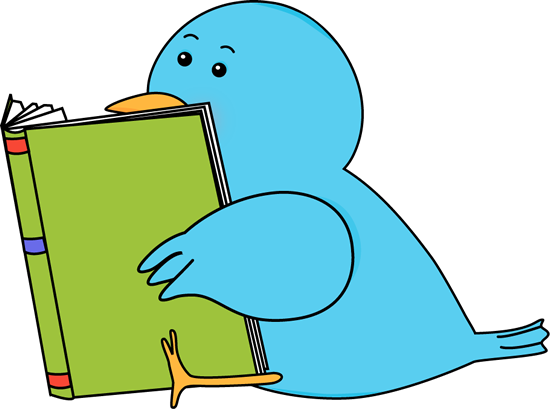Bird Reading a Book