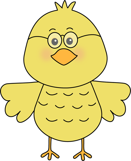 Bird Wearing Glasses