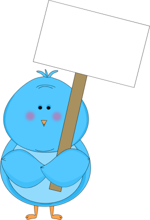 blue bird holding a blank sign clip art blue bird holding a blank rh mycutegraphics com blank construction sign clipart blank street sign clipart