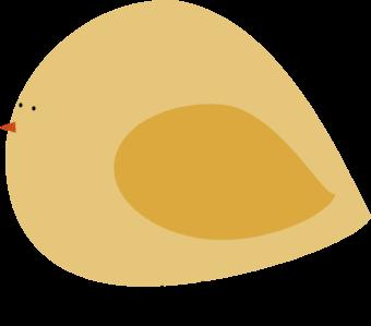 Chubby Yellow Bird