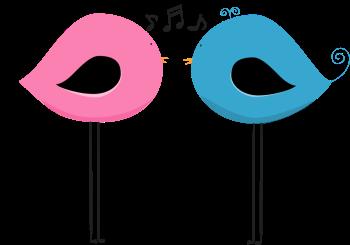 Two Chirping Birds